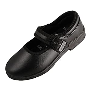 Action Synergy Girl's SS08 Black School Shoes