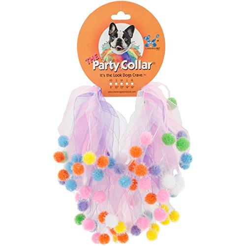 Party Stuff Kostüm - Charming Pet Halsbänder Party Geburtstag, groß,