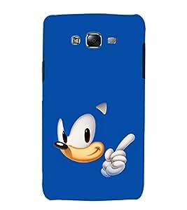 printtech Sonic Cartoon Back Case Cover for Samsung Galaxy J2 / Samsung Galaxy J2 J200F