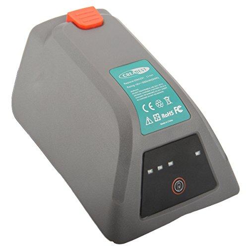Preisvergleich Produktbild Creabest 18V 3000mAh Li-ion Ersatz Akku für Gardena 8025-20 Comfort Wand-Schlauchbox 35 roll-up automatic Li Replace 008A231
