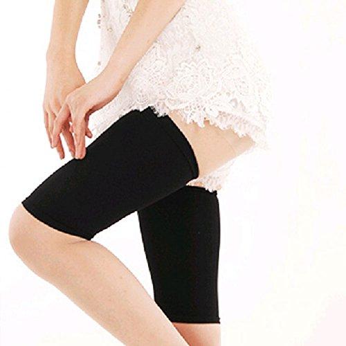 wlgreatsp Frauen dünne Schenkel Bein Former Socken Compression Leg Abnehmen Schwarz (Muskel-former)
