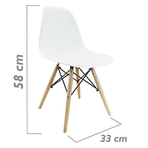Chaise-inspire-Tour-Eiffel-blanc-pour-les-petits-enfants