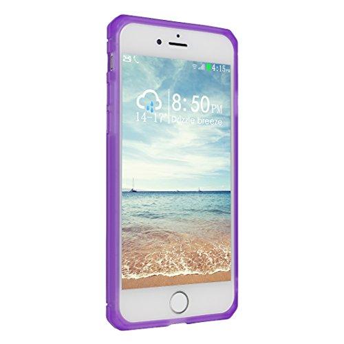 iPhone 7 Hülle, Asnlove Ultra Slim TPU Silikon Backcover Case Taschen Handy Schutzhülle Rutschfest für iPhone 7 4.7 Zoll - Grau Style-7