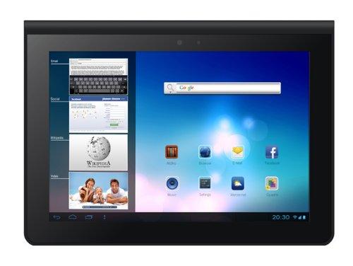 Odys Prime 23,9 cm (9,4 Zoll) Tablet-PC (Rockchip Quad Core Prozessor, 1,6GHz, 2GB RAM, 16GB HDD, Android 4.2.x, HD IPS Display (1280 x 800), HDMI, OTA, BT 4.0) schwarz/Alu