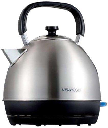 Kenwood SKM110 - Hervidor, 2200 W, acero inoxidable, capacidad de 1.6 litros, base 360º, diseño inglés