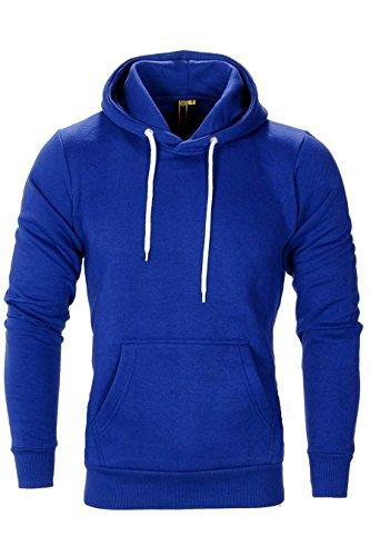 Mens Raiken Flex Fleece Pullover Hoody Größe klein bis XXL (XL, königsblau)