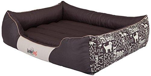 Hobbydog PRENAP11 Hundebett Hundesofa Hundekorb Tierbett Prestige Untertitel, Größe XL, 85 x 65 cm (Woven Hundebett)