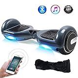 "Windgoo Hoverboard, 6.5"" Elektro Scooter mit APP Funktion, Bluetooth Lautsprecher, Tragetasche, LED, Self-Balance E-Skateboard"