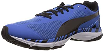 Puma Men's Mobium Unify Strong Blue-Black Mesh Running Shoes - 10UK/India (44.5EU)