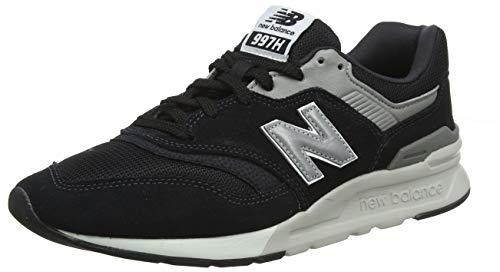 New Balance Herren 997H Core Sneaker, Schwarz (Black/Silver Charcoal), 43 EU -