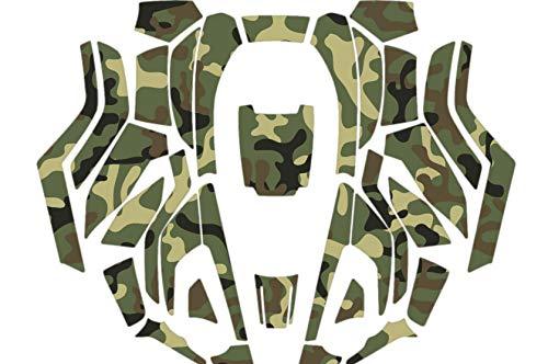 myHusqvarna - Folienset für den AUTOMOWER® 330X/430X (bis 2018) - Camouflage (grün)