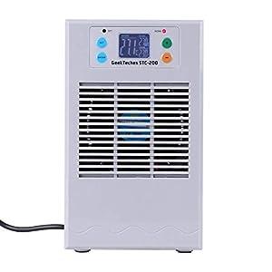 Aquarium-Thermostat, digitaler Fischtank, Wasserkühlung, Heizmaschine, Fischtank, Kühler für Heizung (35 l, 100 W)