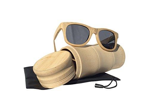Waldhorn Surf-Sonnenbrille-Jungen, uni, Braun / Beige