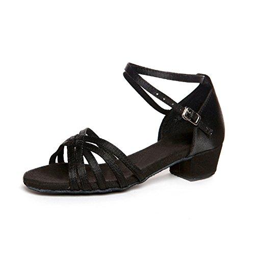 Latin Kinderschuhe/ Damenschuhe/Square Dance Schuhe für Mädchen/ dance Praxis Schuh E