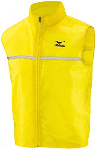 Mizuno Reflective Mens Running Gilet - Yellow