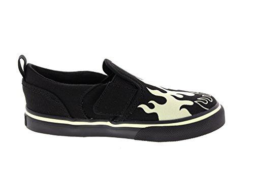 Vans Asher V Infant Slip On Sneakers - Glow / Flames Lueur / Flammes