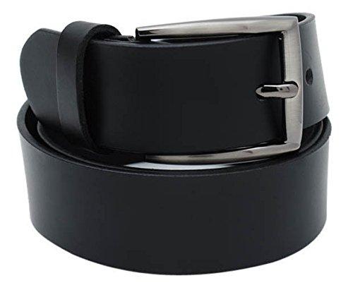 Walletsnbags Novapull Trouser Leather Belt (B5_Black_42)
