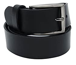 Walletsnbags Novapull Trouser Leather Belt (B5_Black_30)
