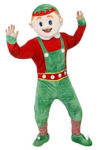 Weihnachten Fat Suit Neuheit Fancy Kleid Kostüm Santa Anzug, Elf Anzug, Weihnachts Pudding oder Pinguin Anzug Deluxe Creolen Funny Weihnachten Kostüm