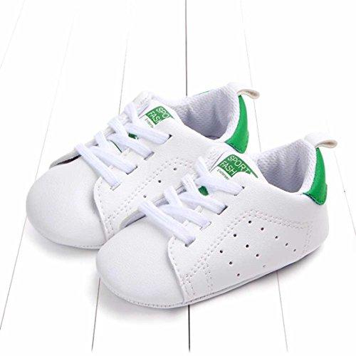 3503394c4f6b7c UOMOGO® Scarpine neonato Primi Passi Sneaker bambini e Ragazze Estate  Bambina Scarpe Sandalo 3 a 18 Mesi - Casual (Età: 6~12 Mesi, Verde)