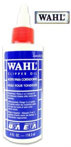 Clipper-Öl von Wahl, 120 ml, eine Flasche ÖlNur wenige Tropfen zwischen den Klingen genügen, um nach wenigen Anwendungen eine optimale Leistung vom Clipper zu erhalten.Inhalt:Petrolium-Destillate. -