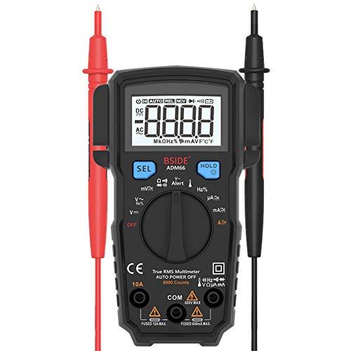 Gtest Digital Multimeter Automotive Meter, True RMS Auto Range DMM Capacitance Ohm Hz Temp NCV Diode Vehicle Tester für die Auto-Reparatur Dmm-digital-multimeter
