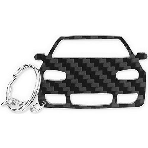 Preisvergleich Produktbild ACF VW Schlüssel-Anhänger | Echtes Carbon | Geschenk-Idee | Tuning | VW Golf 4 R32 GTI TDI