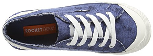 Rocket Dog JAZZIN, Low-Top Sneaker donna Blu (Blue (Blue Bryce))