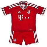 adidas Kinder Trikot FC Bayern München H Mini, Fcbtru/Wht, 92, G74198