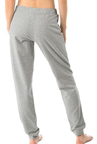 Calida - Bas de pyjama - Femme Gris Gris cement grey melé
