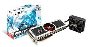 MSI V803-856R Carte Graphique ATI R9 295X2 1018 MHz 8192 Mo PCI-Express