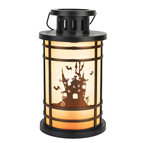 ITART Halloween Laterne LED Beleuchtung Hänge Laterne Batterie betrieben Spukhaus Indoor Party Dekor ()