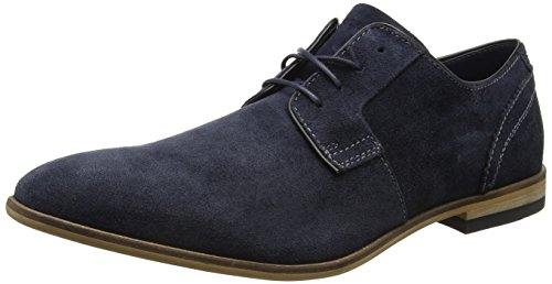Rockport Bl Blutcher - Scarpe Basse Stringate Uomo, colore blu (new dress blues sde), taglia 40 1/2 EU (7 UK)