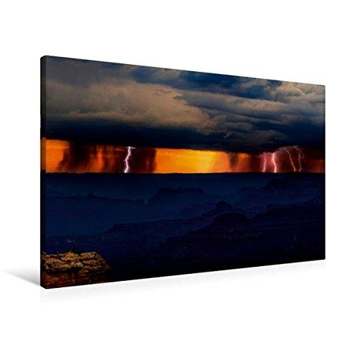 Preisvergleich Produktbild Premium Textil-Leinwand 90 cm x 60 cm quer, Grand Canyon, Utah, USA | Wandbild, Bild auf Keilrahmen, Fertigbild auf echter Leinwand, Leinwanddruck (CALVENDO Natur)
