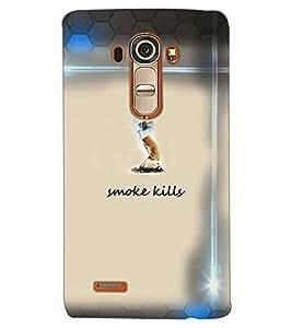 PRINTSWAG SMOKE KILLS Designer Back Cover Case for LG G4