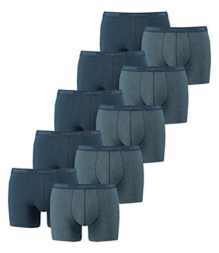 HEAD Men Boxershort 841001001 Basic Boxer 10er Pack blue heaven (494)