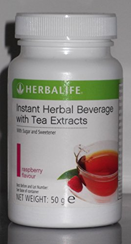 HERBALIFE INSTANT HERBAL BEVERAGE WITH TEA EXTRACTS 50g - RASPBERRY FLAVOUR