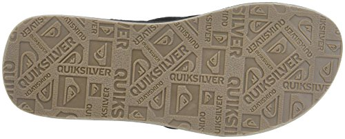 Quiksilver Carver Crew, Tongs Homme Multicolore (BLACK/BLACK/BROWN)