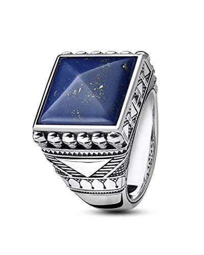 Thomas Sabo Herren-Ringe 925_Sterling_Silber mit \'- Ringgröße 62 TR2206-531-1-62