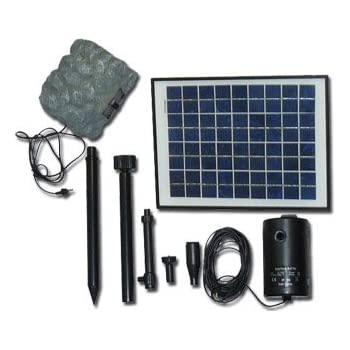 solar pumpe mit akku springbrunnen sp s4 garten. Black Bedroom Furniture Sets. Home Design Ideas