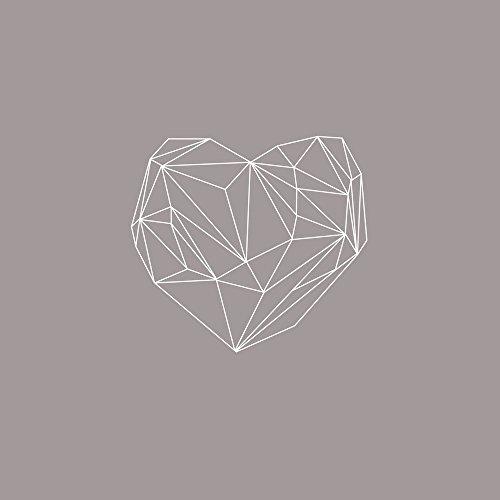 Apple iPhone 5s Housse Étui Protection Coque C½ur Amour Amour Étui en cuir marron