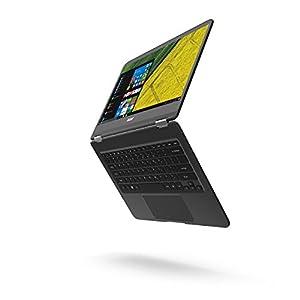 """Acer Spin 7 - Ordenador portátil convertible de 14"""" Full HD (Intel Core i7, 8 GB de RAM, 256 GB SSD, UMA, Windows 10 Home), negro"""
