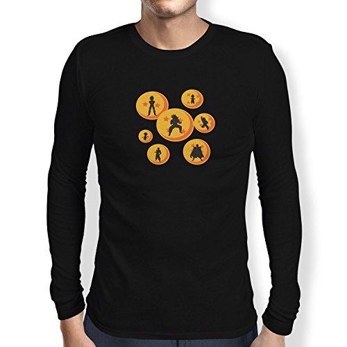 TEXLAB - The Balls - Herren Langarm T-Shirt, Größe L, (Gt Dragon Ball Costumes)