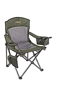 Oztrail Regal Chair Camping Folding Chair 200 Kg Capacity Dimensions 92 X 61 X 101 5 Cm Amazon Co Uk Sports Amp Outdoors