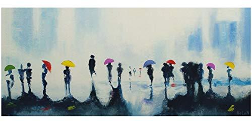 YS-Art Tableau Peinture Acrylique Vallée Des Fleurs| Peint...