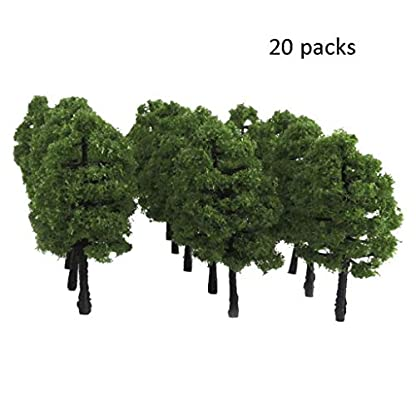 XUANLAN-Realistischer-knstlicher-Baum-Simulationsanlage-Sand-Tisch-Gebude-Modell-Kunststoff-Ornamente-Simulation-Kleinen-Baum-Kunststoff-Kleinen-Baum-60mm-Leicht-zu-reinigen
