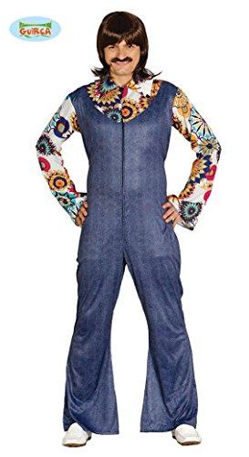 ncer Kostüm für Herren Tänzer Jeansanzug Anzug Jeans Gr. M - L, Größe:L (Herren Groovy Dancer Kostüm)