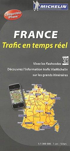 France : Trafic en temps réel 1/1 000 000 par Michelin