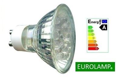 Eurolamp Led Zierblende Gu10 220-240v 15w 90lm Gelb Strahler Leuchtmittel Birne Lampe von Eurolamp