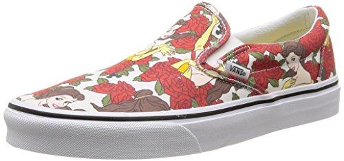 Vans U Classic Slip-on Disney, Unisex-Erwachsene Sneakers Mehrfarbig (disney/belle/true White)